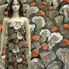Ткань вышивки отбортовывает Sequin на сетке