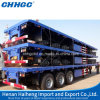 3 Axle 20FT 40FT Container Flatbed Truck Semitrailer