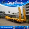 3 Radachse Low Bed Semi-Trailer/Lowbed Semi Trailer für Sale