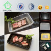 500g Black pp. Disposable Fresh Meat Trays mit Absorb Pad