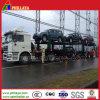 Euro Ontwerp Twee de Semi Aanhangwagen van de Auto-carrier van Assen