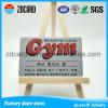 2017 cartes en plastique de PVC de modèle neuf pour l'adhésion de gymnastique