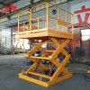 Fisso Scissor la piattaforma di funzionamento dell'elevatore Scissor la strumentazione di sollevamento