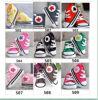 Chaussures infantiles de sport de filles de garçon de butins de tennis d'espadrilles de crochet de bébé