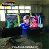 Alto pequeño pixel de interior claro la pared video de la visualización de pantalla del LED para el media y el Staduim