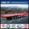 Cimc Lower GravityのHuajun 3axle Low Bed Semi Trailer