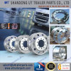 оправа колеса алюминиевого сплава тележки и трейлера 17.5X6.75 r Polished