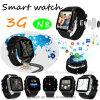3G het androïde Slimme Horloge van het Systeem met het Draadloze Laden (N8)