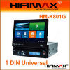 7  1DIN Universal Car DVD W/Detachable Panel (HM-K801G)
