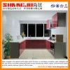 Armário de cozinha pequeno do lustro elevado