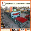 Azulejos de azotea dobles que forman la máquina