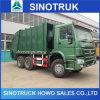 HOWO 6X4 좋은 가격을%s 가진 유압 쓰레기 트럭