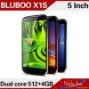 安い5inch二重Core OEM Phone Bluboo X1s、4GB Smart Cell Phone