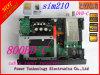 OEM satellite 800HD de boïtier unique contenant les codeurs et les avertisseurs de câble de Newdvb 800c HD de récepteur de HD