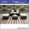 PEの藤の屋外のテラスの柳細工の家具セット、セットされる庭のソファー(J382-C)