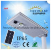 luz de calle solar integrada del sensor de movimiento de 10W IP65 LED
