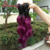 Hautement - cheveu 100% malaisien humain recommandé de Remy Ombre de la pente 8A