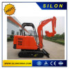 Excavatrices de chenille hydraulique de la marque 2500kg de Silon mini avec la voie en acier