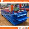 Metall Galvanized Dual Level oder Double Layer Roofing Sheet Roll Forming Machine