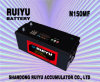12V 150ah High Quality N150 Mf Truck Battery Auto Battery