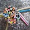 L'art populaire d'ongle conçoit des autocollants d'art d'ongle