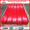 Precio galvanizado acanalado PPGI del material para techos del metal de la hoja de acero