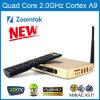 Boîte intelligente androïde du noyau TV de quadruple de Zoomtak T8