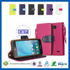 C&T 7 Colour Card Holder Wallet Magnetic Wallet Flip Leather Case for LG L90