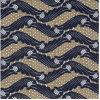 의복 부속품 레이스 탄력 있는 크로셰 뜨개질 직물 레이스