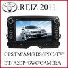Het Systeem van Mulitimedia van de auto voor Toyota Reiz 2011