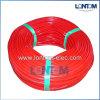 Sleeving retardador da fibra de vidro do silicone do calor