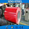 El color revestido en frío cubrió bobinas de acero galvanizadas