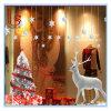 Autoadesivo e decalcomania bianchi decorativi della parete dell'albero di Natale degli alci di natale e per la finestra ed il portello del negozio