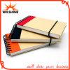Mini Notebook de papel espiral de bolso para promoção (PNB011)