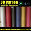 3D Carbon Folie (With 3M Air Free Bubbles) /3D Carbon Fiber Film