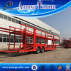 2 Axles 8 Vehicles Transport Car Semi Trailer for Sale