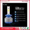 Jogo 36W 3600lm 5000k da conversão do bulbo do farol do diodo emissor de luz da ESPIGA