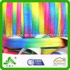 La impresión brillante del traspaso térmico del color del arco iris pliega la cinta elástico