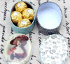 La conception de Customzied de cadre/boîte-cadeau de /Candy de cadre de mariage de bidon reçoivent