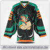 Großhandels-Polyester-Sublimation-Eis-Hockey Jersey