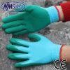 Перчатка руки латекса пены повелительниц Nmsafety покрытая