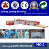 HochgeschwindigkeitsSewing und Cutting Machine für pp. Woven Sack (Ausschnitt und nähende Maschine für pp. gesponnene Sacknähen und -ausschnittmaschine)