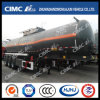 Cimc Huajun 32cbm 3axle Naoh Liquid Tanker Trailer