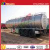 De combustível Diesel do armazenamento do transporte do caminhão tanque do alumínio do reboque Semi