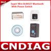2014 nuovo Super Mini Elm327 Bluetooth OBD-II OBD Can con Power Switch