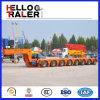 中国は頑丈な200トンのモジュラー運搬量のトレーラーを作った