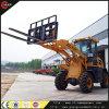 Фабрика поставляет 1.2 затяжелитель колеса тонны Zl12 с вилкой паллета