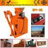 Machine de moulage de Clay/Soil/Earth de brique hydraulique semi-automatique de couplage (SY1-25)