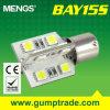 Mengs&reg ; Éclairage LED de Ba15s 3W DEL Auto avec du CE RoHS SMD 2 Years'warranty (120120004)