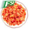 Dados da pimenta vermelha de IQF